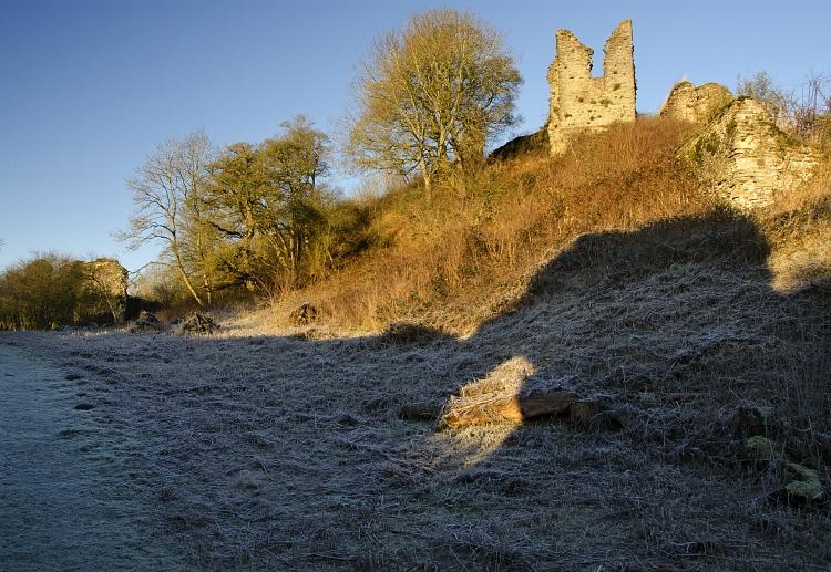 wigmore castle frost01