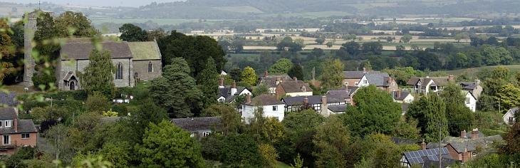 wigmore village panorama